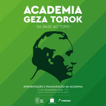 Apresentação e inauguração da Academia Geza Torok
