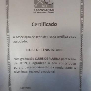 Certificado Platina