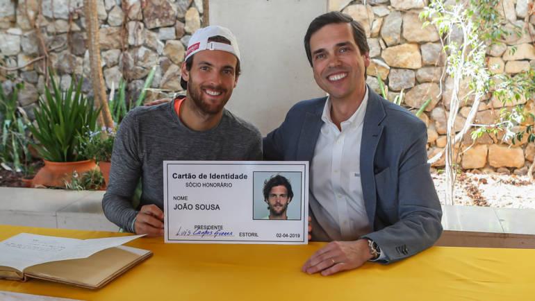 João Sousa, novo Sócio Honorário