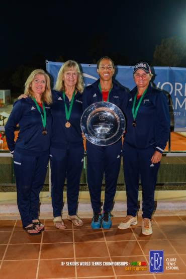 USA vencem Campeonato do Mundo de Ténis de Veteranos no Estoril