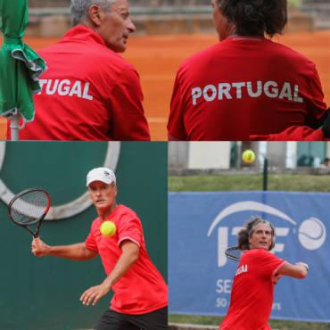 Paulo Travassos e João Freitas na final de pares +55