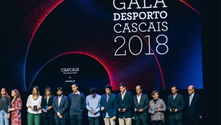 CTE na Gala do Desporto de Cascais.