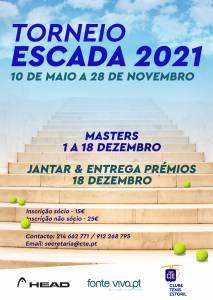 Cartaz Torneio Escada